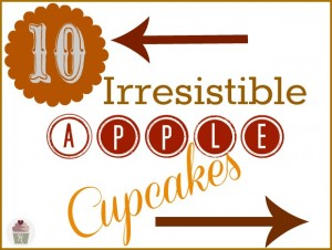 10 Irresistible Apple Cupcakes :: HoosierHomemade.com