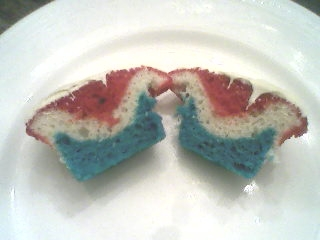 4th of July Cupcakes.7