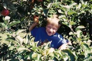 Casey Apple picking