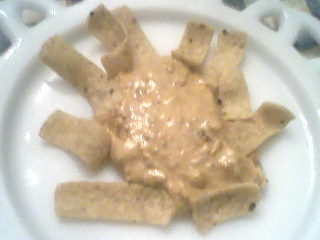 Cheesy Chili Dip.Frito-Lay