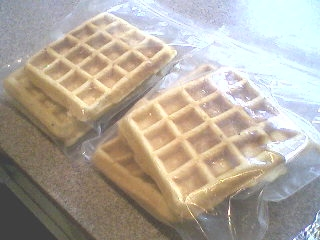 Freezing Waffles