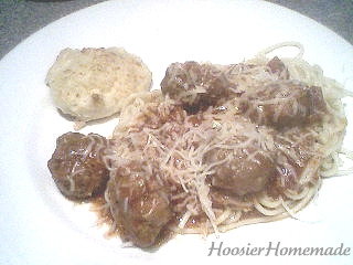 Spaghetti and homemade meatballs.fixed.