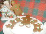 Christmas Cookies~Gingerbread Men~Day 8