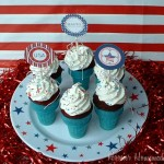 4th Cupcake Cones