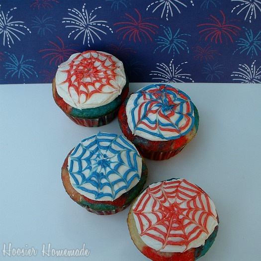 Fourth Of July Cupcakes: Cupcake Tuesday
