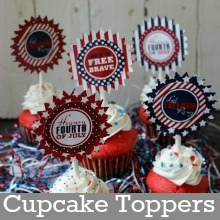 4th-of-July-Cupcakes.Printable.Page