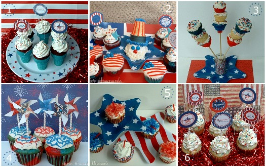 fourth of july cakes. Fourth of July Cupcakes