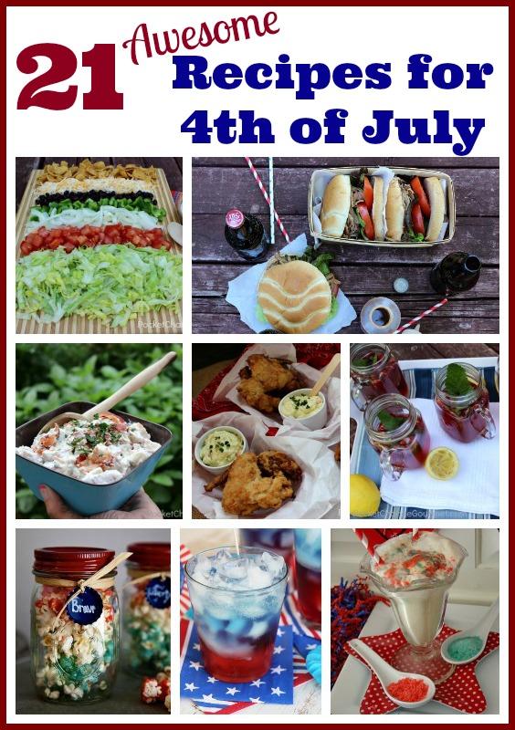 Fourth of July Recipes on PocketChangeGourmet.com