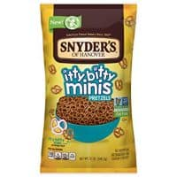 Snyder's of Hanover Pretzels, Itty Bitty Mini Pretzels, 12 Ounce.