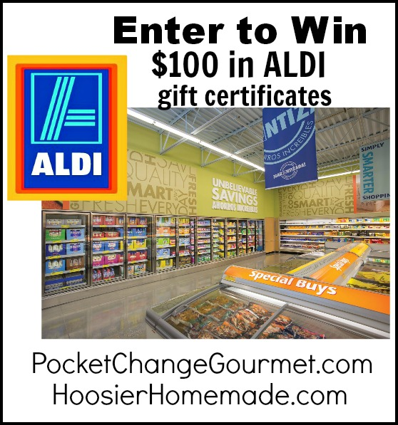 ALDI Gift Certificates Giveaway