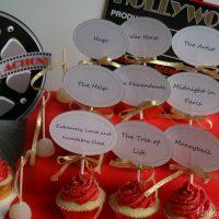 Oscar Party Cupcakes