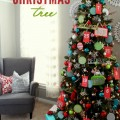Advent Christmas Tree : 100 Days of Homemade Holiday Inspiration on HoosierHomemade.com