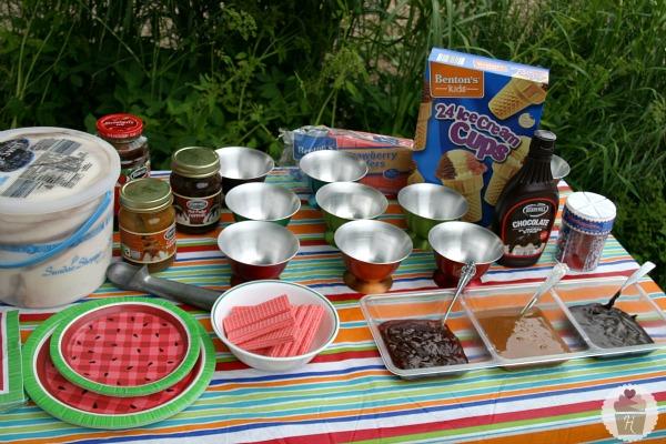 Hereu0027s What I Servedu2026 Sundae Shoppe Fudge Swirl Ice Cream; Toppings: ...