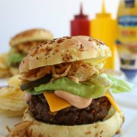All American Barbecue Burger
