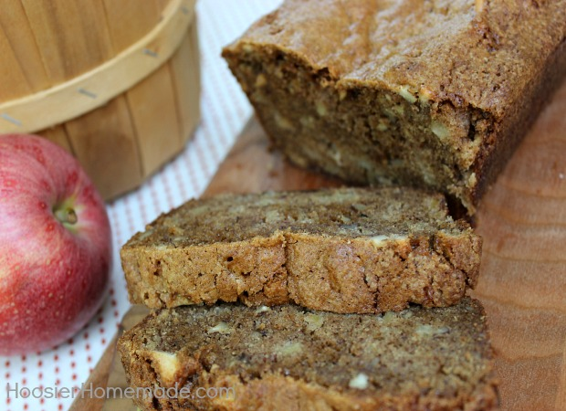 Apple Bread :: Recipe on HoosierHomemade.com