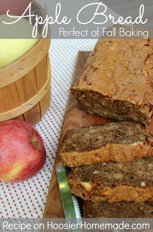 Apple Bread :: Recipe on HoosierHomemade.com