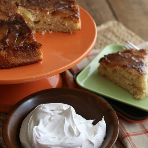 You can never go wrong with apples and cinnamon baked in a cake! This Apple Cinnamon Upside Down Cake is perfect for any occasion! Add it to your Thanksgiving Dessert Table and impress your guests! No need to tell them it's easy to make!