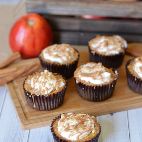 All of the delicious flavors of Apple Crumble Pie without all the hassle. These Apple Crumble Pie Cupcakes are packed with Fall flavors - but are super easy to make! Perfect for Thanksgiving Dessert, Fall Parties, or even a special weeknight dessert.