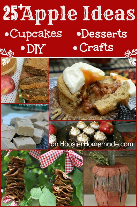 25+ Apple Desserts, Crafts and More on HoosierHomemade.com