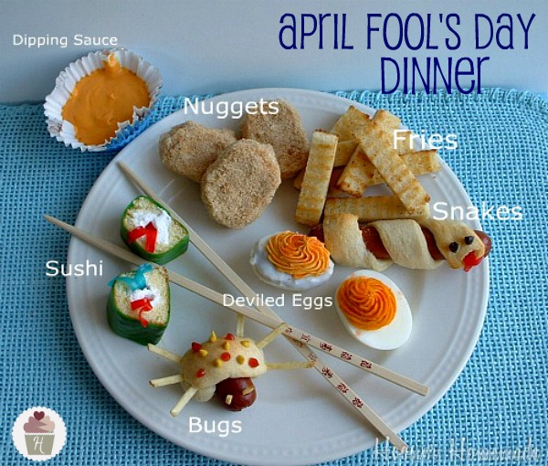 April Fools Day Dinner :: Recipes on HoosierHomemade.com