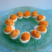 April Fool's Day Dinner: Deviled Eggs