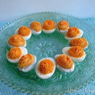 April Fool's Day Dinner: Deviled Eggs