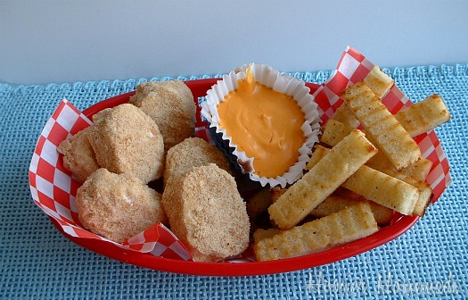 April Fool's Day Dinner: Chicken Nuggets & Fries