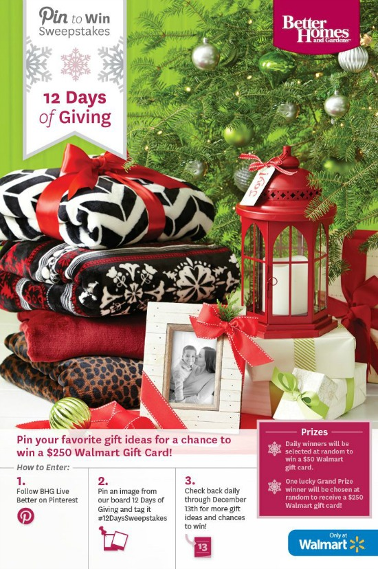 12 Days of giving on Pinterest