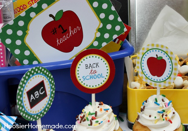 back to school printables for teachers and students