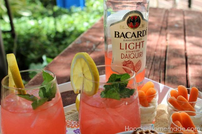 Easy Summer Entertaining with Bacardi :: HoosierHomemade.com