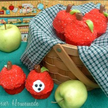 Back to School Apple Cupcakes.2