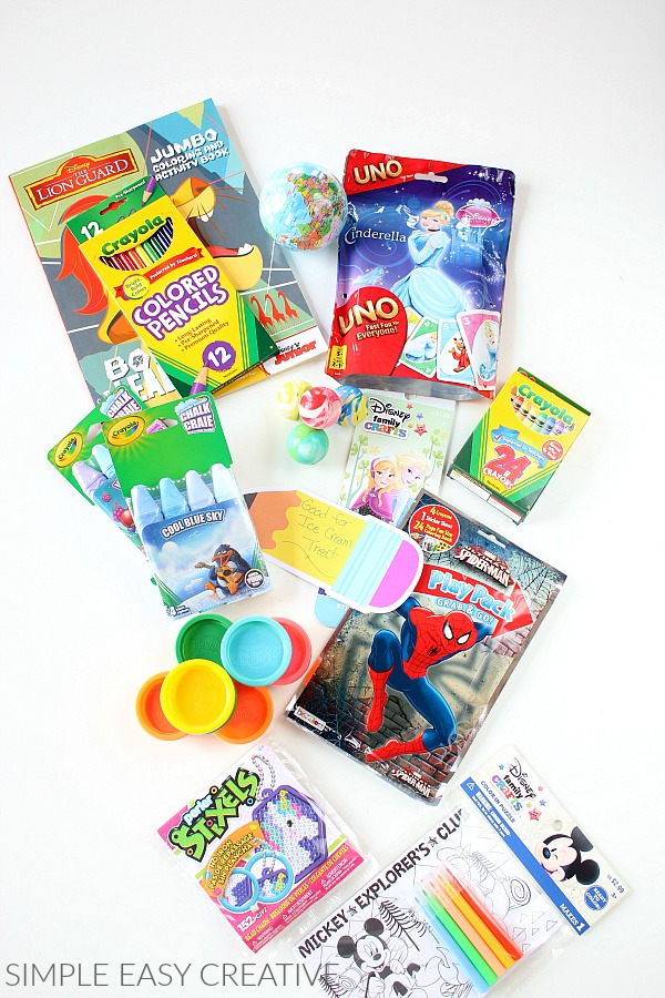 Toys for Countdown Bags