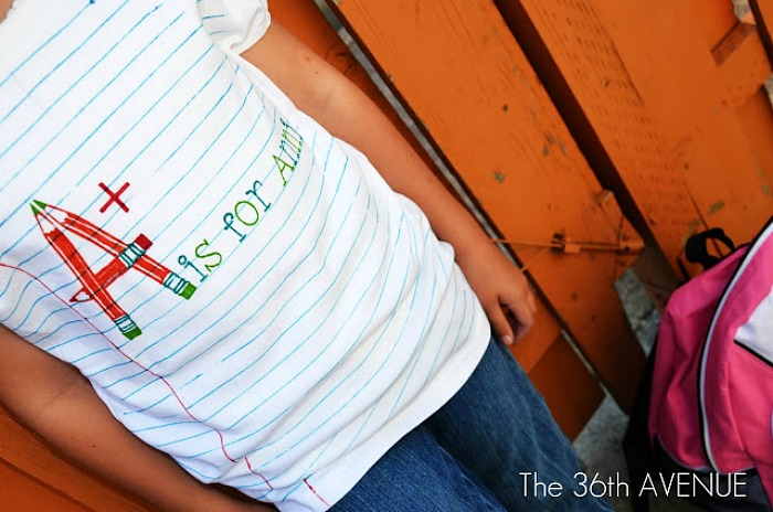 Back to School Crafts-Shirt
