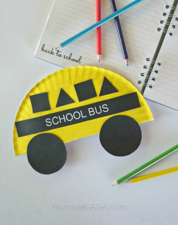Back-to-School-Crafts-for-Kids-School-Bus-Shapes-Paper-Plate-Craft-645x1024