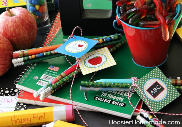 Back to School Party | Details on HoosierHomemade.com