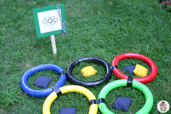 backyard olympics get the whole family involved in the olympic games these fun bean bag toss supplies - Bean Bag Toss Game