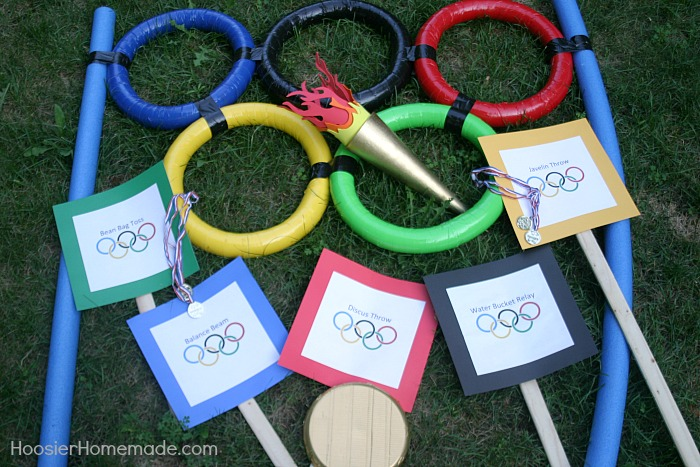 Backyard Olympic Games - Hoosier Homemade
