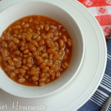 Baked Beans.Tricia