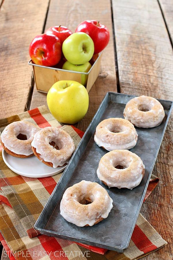 Apple Cinnamon Baked Donut Recipe