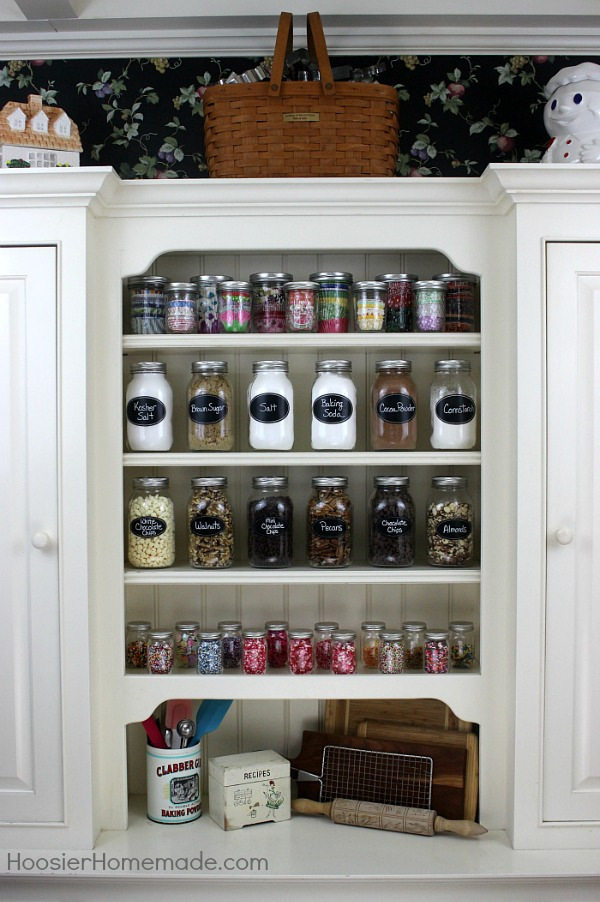 BAKING CABINET ORGANIZATION    In Minutes You Can Have Your Baking Supplies  Organized And Your
