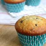 These simple and easy Banana Chocolate Chip Muffins are perfect for breakfast, snack, lunches, and more! Pss...they are good for you too! Pin to your Recipe Board!