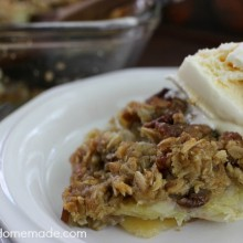 Banana Bread Cobbler | Recipe on HoosierHomemade.com