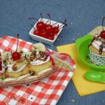 Banana Split Cupcakes - July 2012