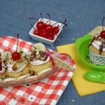 Banana Split Cupcakes - July 2012