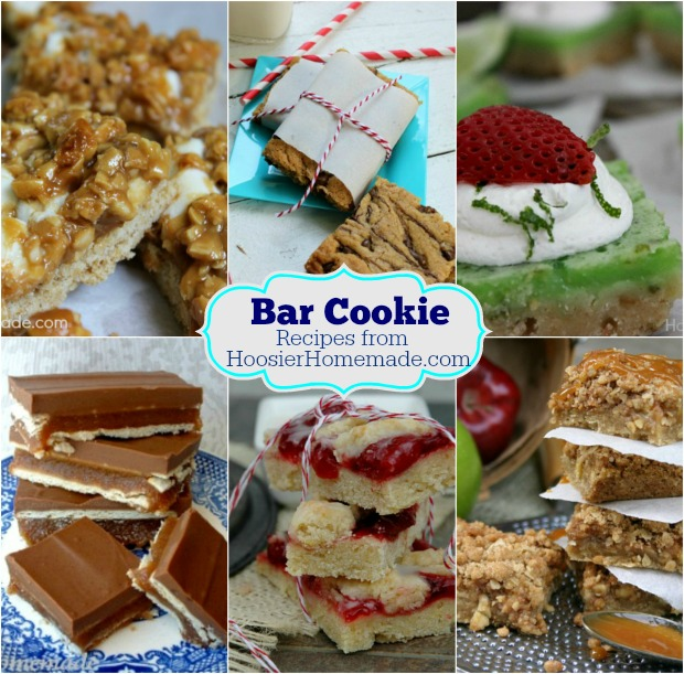Bar Cookie Recipes on HoosierHomemade.com