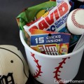 Sports Themed Gift Bucket | Details on HoosierHomemade.com