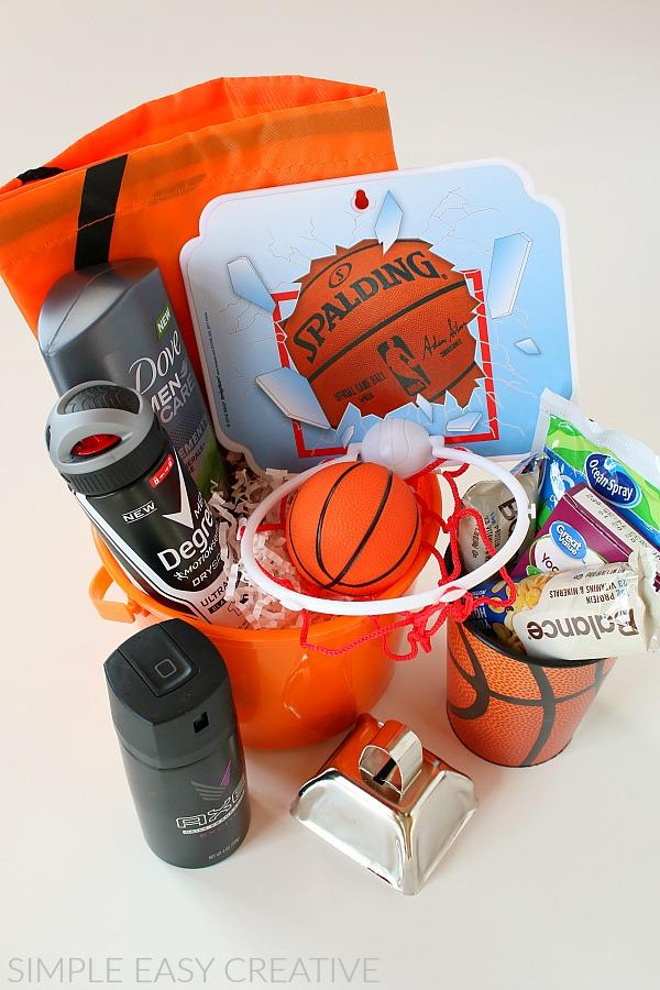 Basketball Gift Basket Hoosier Homemade