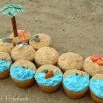 Beach Cupcakes - August 2011