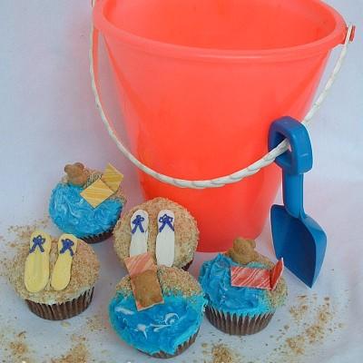 Beach Cupcakes.2