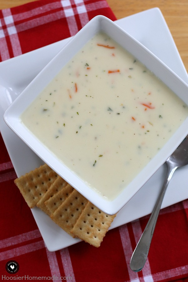 Warm up with this comforting and EASY soup in less than 20 minutes! Celebration National Soup Month!